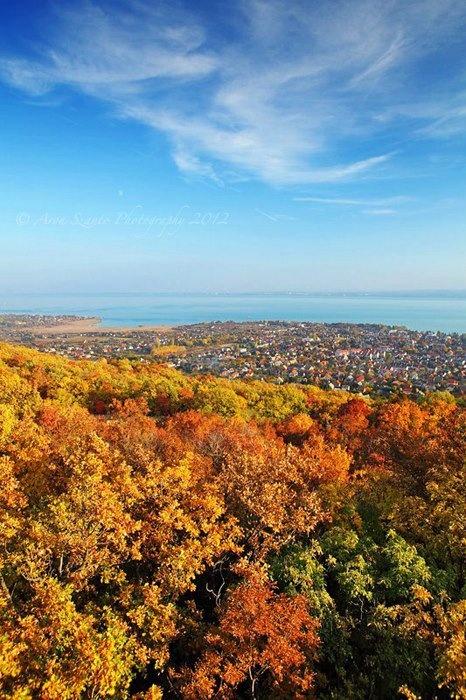 Herbst in Balatonfüred.