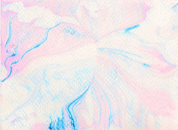 Cotton Candy Dream Is One Out Of A Series Pastel Colored Marbled Art Paintings