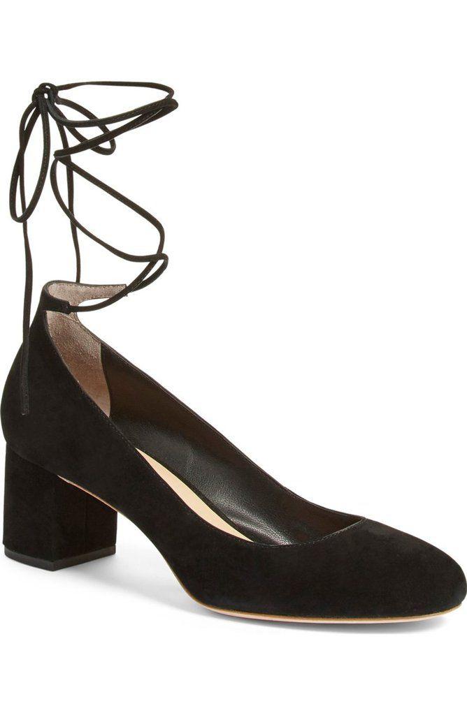 Loeffler Randall 'Clara' Block Heel Pump ($325)