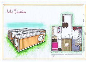 1000 id es propos de maisons containers sur pinterest for Maison container loire atlantique