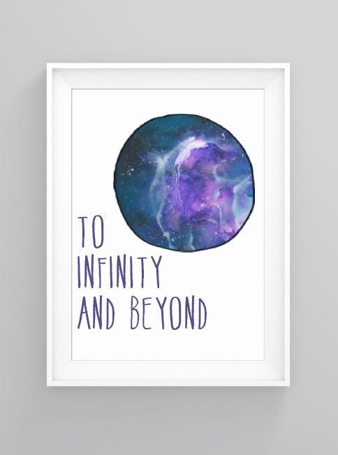 Infinity and beyond | print