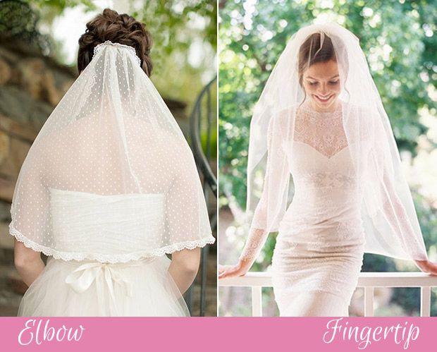 Elbow and Fingertip veils | www.onefabday.com