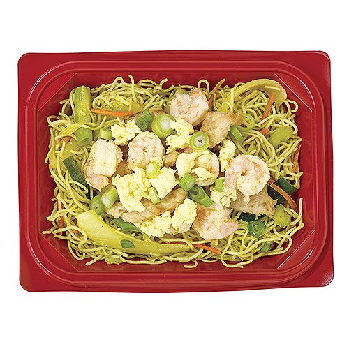 Singapore Noodle with Chicken & Shrimp Asian Bowl