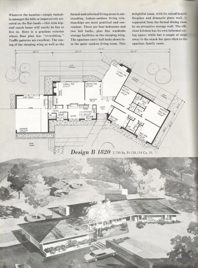 These are beautiful vintage house plans that are efficient, spacious and full of memories!! Vintage house plans! Click on the photos to enlarge. The house plans are from Home Planners 185 Home Plan…