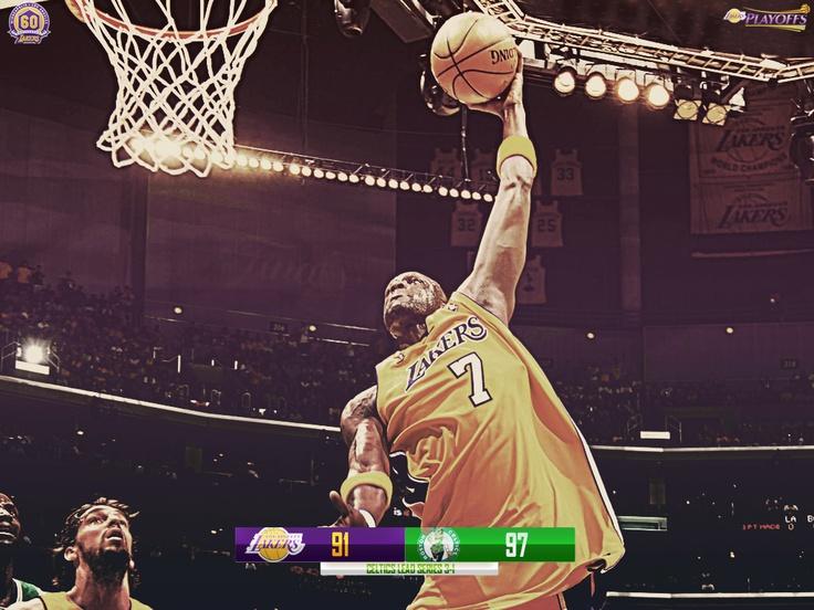 2007/2008 Playoffs - NBA Finals - Game 4
