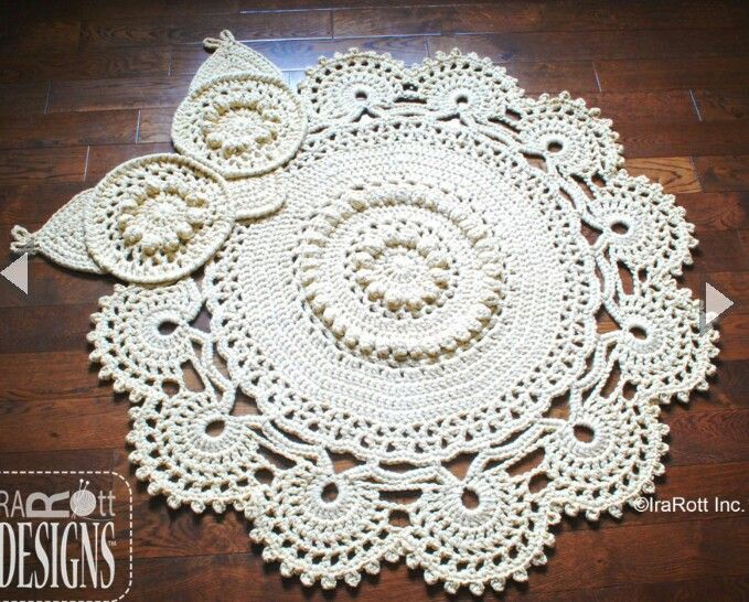 120 best CROCHET/KNIT-Rugs images on Pinterest | Alfombras, Tapetes ...