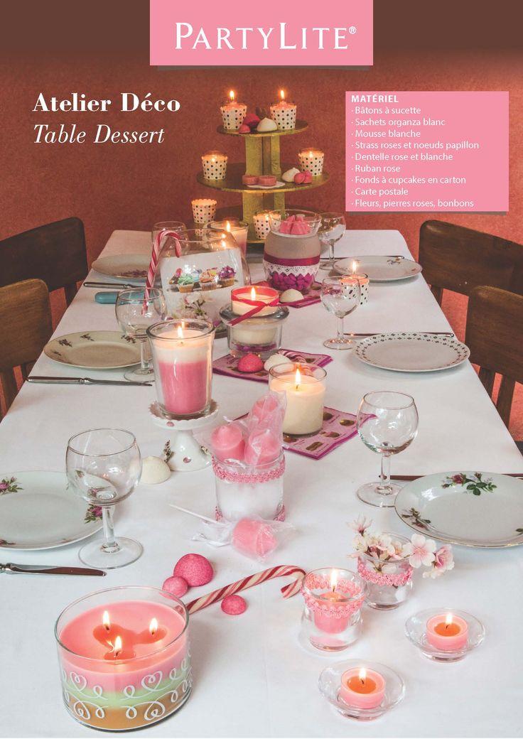 PartyLite DIY  Atelier Déco: Just Dessert