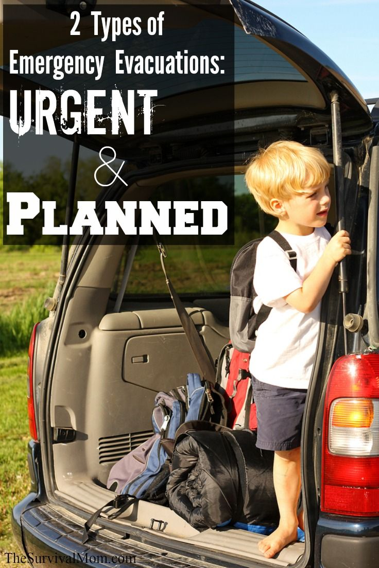 2 Types of Emergency Evacuations: Urgent & Planned