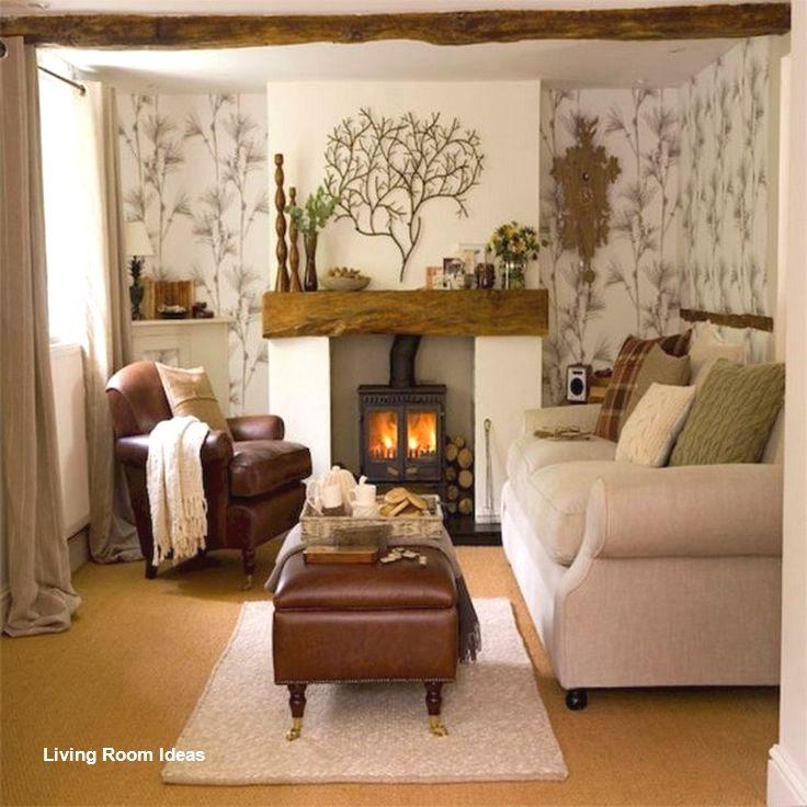 Cozy Living Room Decor For Small Modern Boho Or Rustic Living Rooms Cosy Living Room Small Living Room Decor Living Room Warm