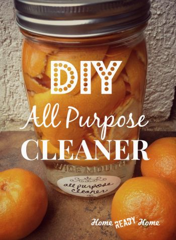 DIY All Purpose Cleaner.  How to make homemade cleaner for your home.