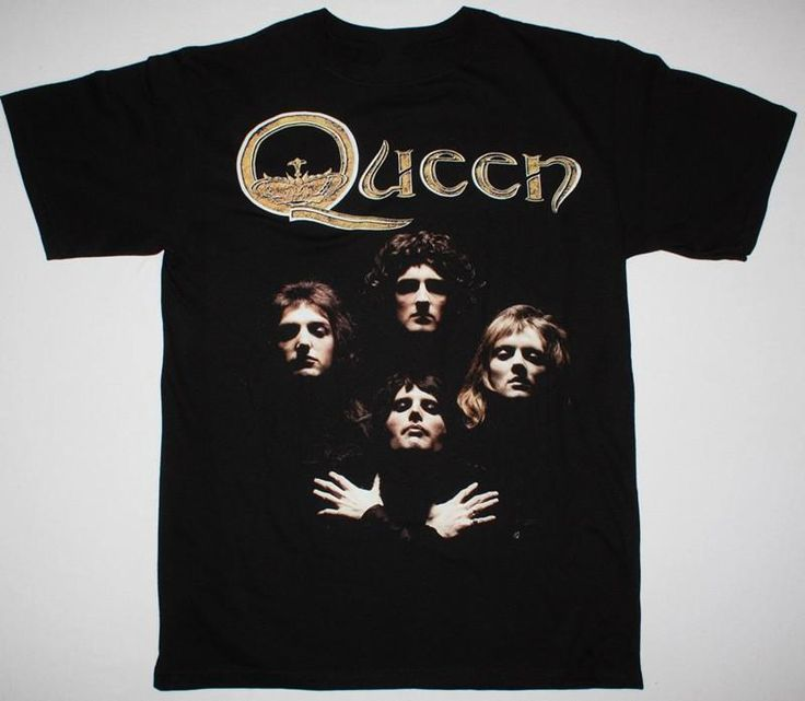Quality Print New Summer Style Cotton MAY QUEEN  mercury II black tshirt Print T Shirt for Men