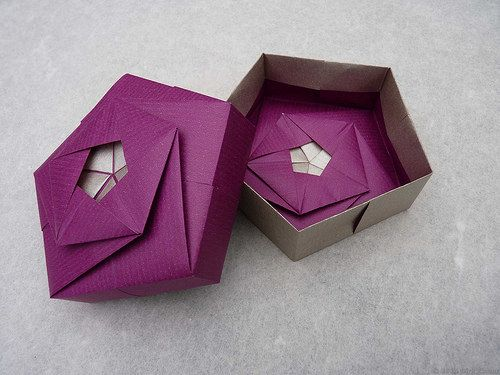 20 Best Modular Origami A Place For Origami Geo Gon Gift Boxes