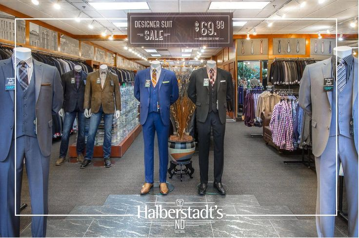 ::: $69.99 Designer Suits ::: Stop by Halberstadt's Men's Clothiers at the West Acres Mall to get fitted for a Designer Suit priced at just $69.99! Don't know exactly what you're looking for? One of our highly trained Crew members will be happy to help you in anyway! > #westacres #shop #gift #suit #soul #sale #fitted #menswear #mensfashion #beachlife #contemporaryfashion #classicfashion #halberstadtsnd // #fargo #ilovefargo #downtownfargo #westfargo #ndledgendary #moorhead #midwest #america…