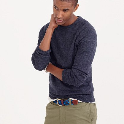 J.Crew - Slim marled cotton sweater