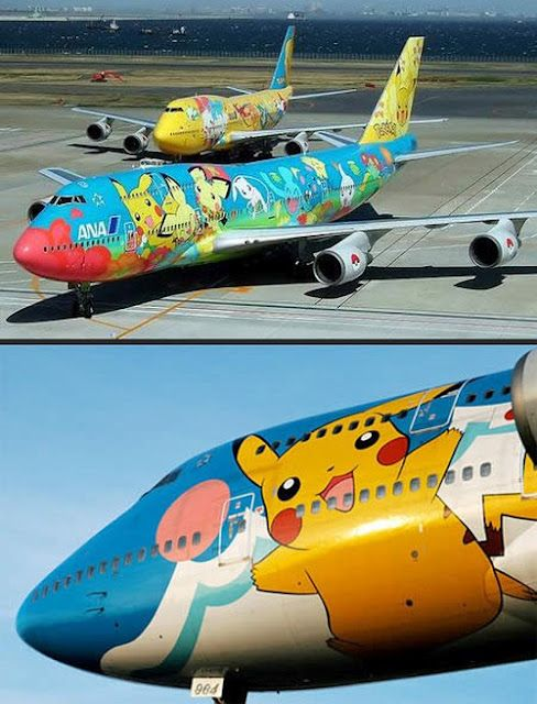 Pokeplane!! But I thought flying was weak against electric??