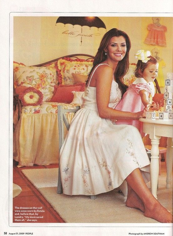 ali landry & New Arrivals fleamarket table & chairs by lilly