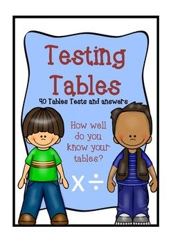 This product includes1.  Times tables sheets for both multiplication and division.  These can be pasted into a         homework book for studying purposes.  2.   40 Timetables tests with answer sheets.  Each test has 30 questions.  The tables tests have been broken down as follows: TEST 1, 2, &  3          Multiplication 1, 2, 3, 4 TEST 4, 5 & 6 Multiplication 5 , 6 , 7 , 8 TEST 7, 8, & 9  Multiplication 9, 10, 11, 12 TEST 10, 11, & 12 Division 1, 2, 3, 4 TEST 13, 14, & 15...