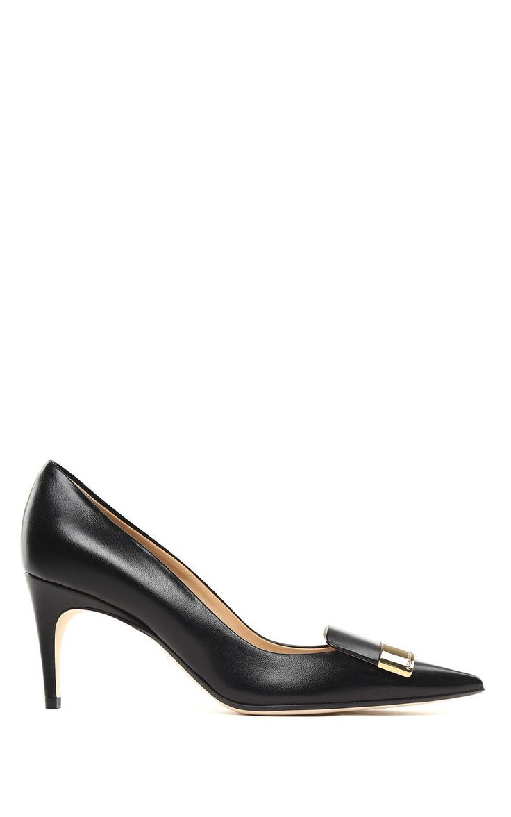 SERGIO ROSSI | Sergio Rossi Sergio Rossi Sr1 Leather Pumps #Shoes #High-heeled shoes #SERGIO ROSSI #sergiorossisr1
