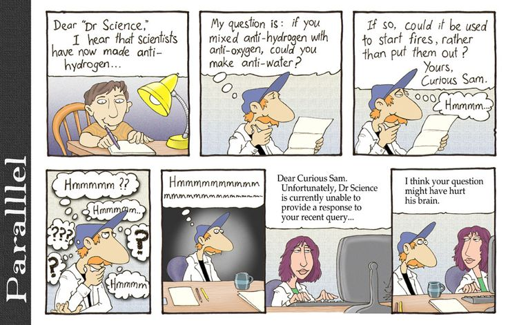 Chemistry Cartoons - Science and Ink