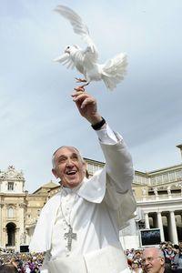 Pope Francis--always joyful