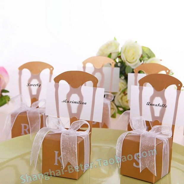 decorations for anniversary party for find this pin and more on wedding favor box by miniature chair place card holder
