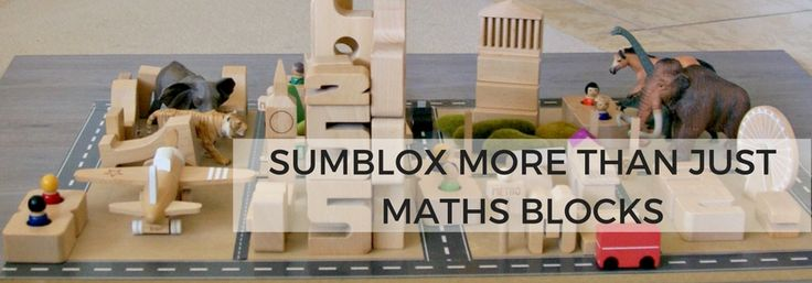 It doesn't matter how old you get, wooden blocks are always fun. Toy blocks are powerful construction toys that can take kids on exciting adventures of discovery, stimulating creativity and enhancing important life-long skills.  Sumblox are maths blocks that are built to last and our absolute favourite.  The number of activities you can do with Sumblox is endless.