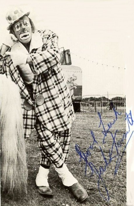 John (Jacko) Fossett was one of Great Britain's supreme knock-a-bout 'Auguste' clowns. Born of the famous Fossett circus family was an all-round performer in circus skills and then became an acclaimed slapstick clown.