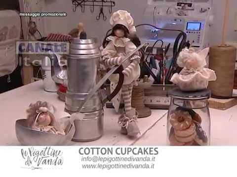 Tutorial n.12: Cotton Cupcake | Le Pigottine di Vanda