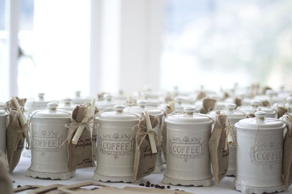 coffee favors http://weddingwonderland.it/2015/05/matrimonio-a-tema-caffe.html
