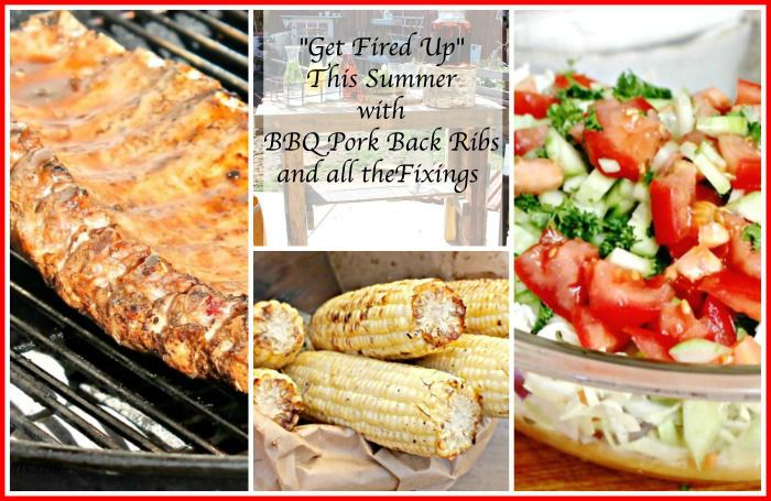 Grilling Recipe for the Summer: BBQ Pork Back Ribs