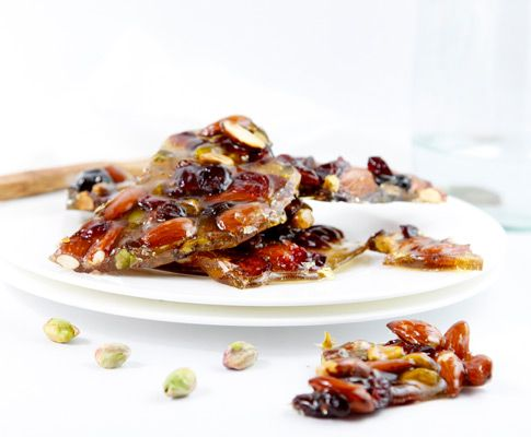 Fruit and Nut Brittle is a classic recipe, deconstructed. Use your favorite dried fruits and nuts and whip up a double batch - one as a holiday gift and the other all for yourself!