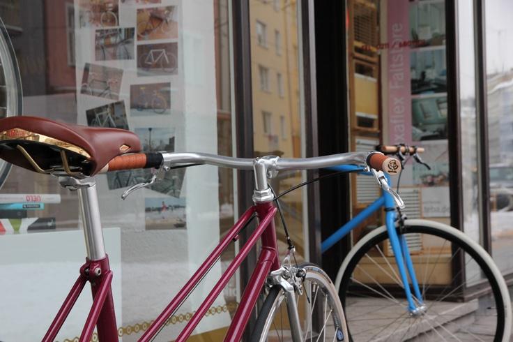 beautiful San Marco Rolls saddle