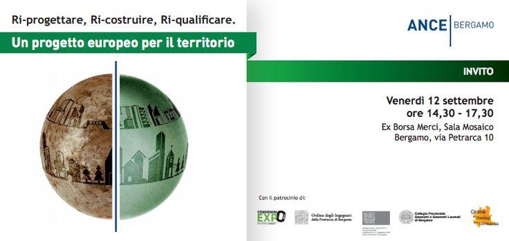 Riprogettare, riqualificare, ricostruire! http://www.condominioexpo.com/news-e-convegni/ #CondominioExpo - Fiera di Bergamo