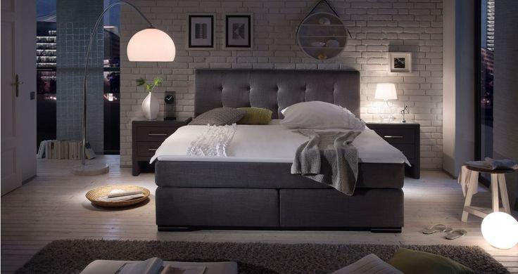 Nowoczesne łóżka tapicerowane Boxspring. #lozkatapicerowane #stylowelozka #lozkaboxspring #lozka #lozko #lozkadosypialni #lozkomalzenskie #lozkakontynentalne