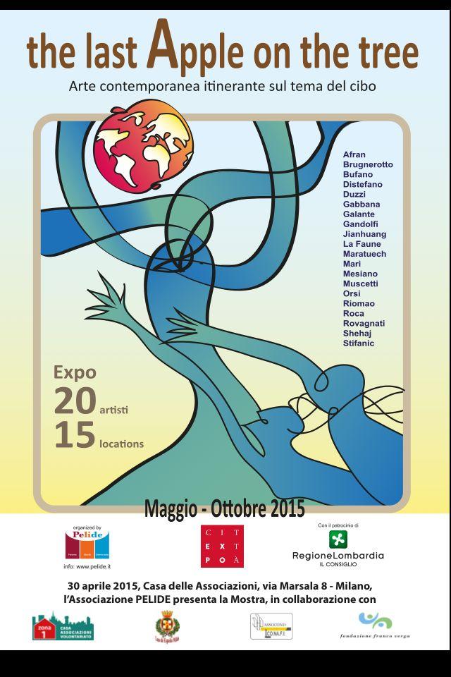PELIDE. exhibicion multidisciplinar de artista internacionales. Milan. EXPO. EXPO in Citta. 2015