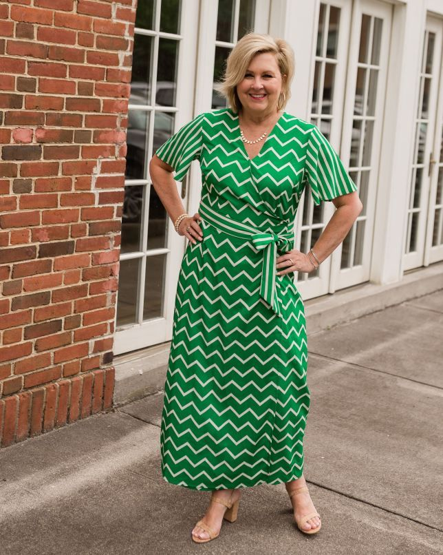 ONE OF THE MOST FLATTERING STYLE OF DRESSES | 50 is not old ...