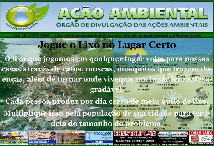 AÇÃO AMBIENTAL SUDOESTE PAULISTA: CARTA DE 2070