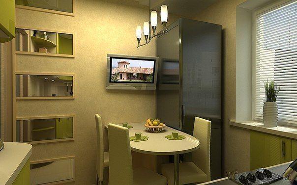 Дизайн маленькой кухни   Идеи дизайна интерьера