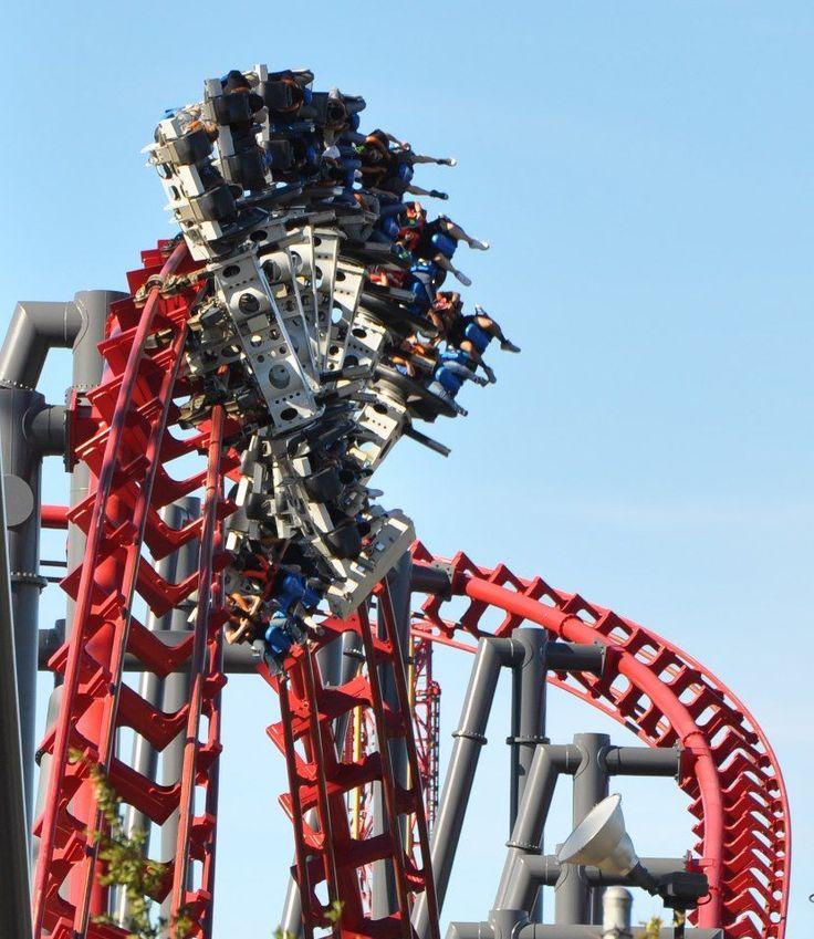 X2:  Six Flags Magic Mountain - Valencia, California