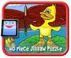 Ducks Online jigsaw puzzle for kids