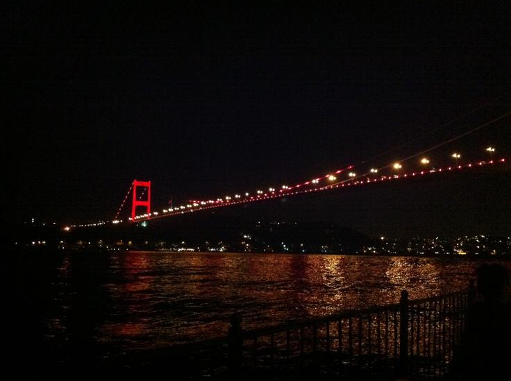 Fatih Sultan Mehmet Bridge - Istanbul.