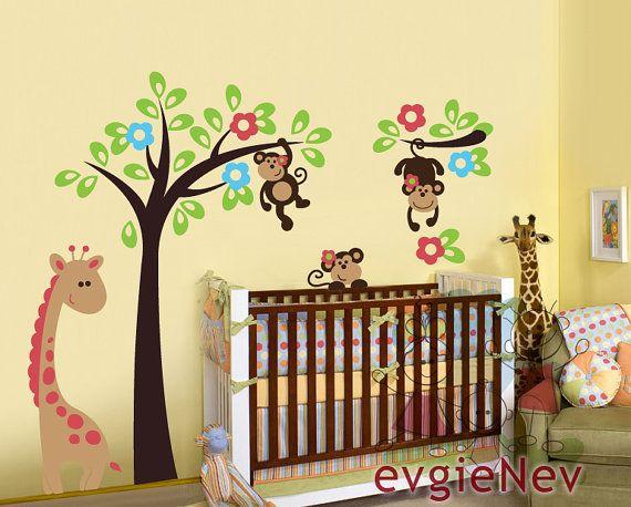 Appliqué murale pour chambre de bébé