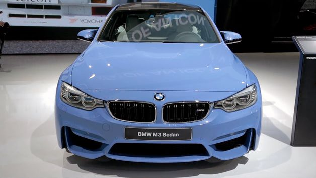 A closer look at the 2015 BMW M3 and M4
