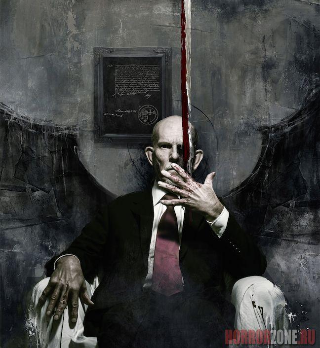 """ВЕЛИКОЛЕПНЫЙ арт к телесериалу """"Изгоняющий дьявола"""""""