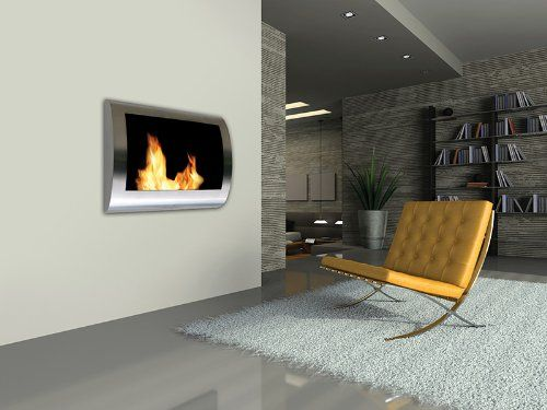 Ventless Fireplaces Burn Alternative Fuels, Meaning No Firewood To Store,  No Smoke And No Pollution.