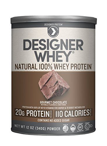 Designer Whey Premium Natural 100% Whey Protein, Gourmet Chocolate, 12 Ounce * You can find out more details at the link of the image.