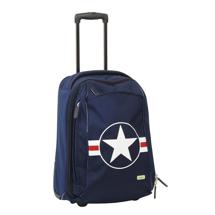 Bobble Art Star & Stripe - Cabin Luggage