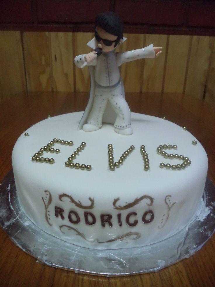 #ElvisPresley #cake creada por Volovan Productos