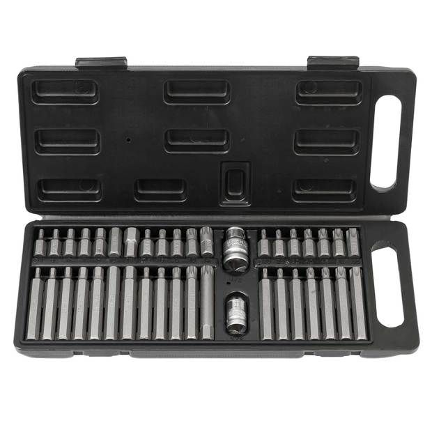 Power bit set with extra long bits 40 pcs | Wiesemann 80034 |