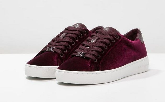MICHAEL Michael Kors IRVING Baskets basses plum, Baskets femme Zalando…